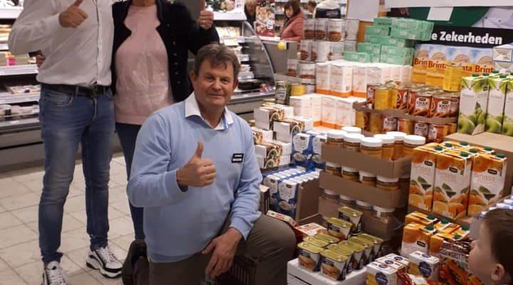 Kerst actie Voedselbank